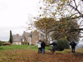 au château de Linoire