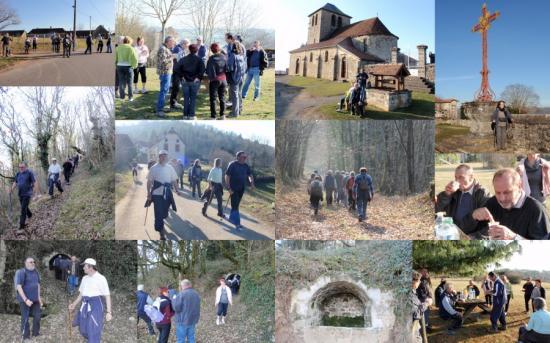 1ère rando express à Puy d`Arnac