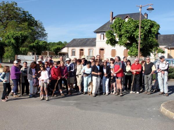 au départ de Saint-Sornin-Lavolps