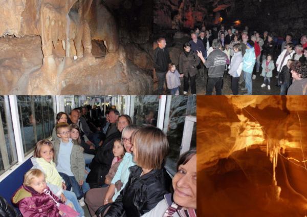 visite des grottes de Lacave