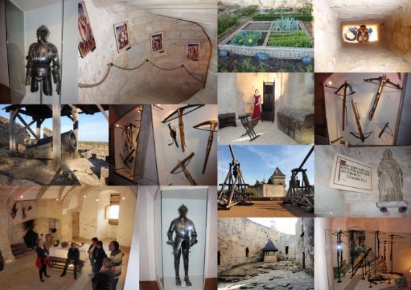 visite du musée de la guerre au moyen âge