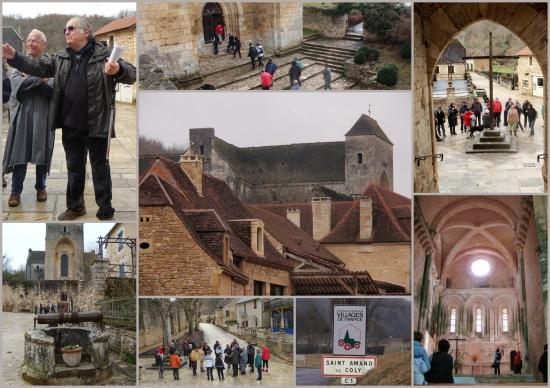 visite de Saint Amand de Coly