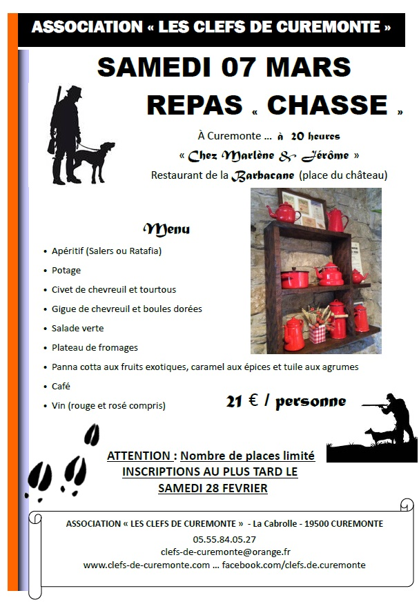 repas chasse