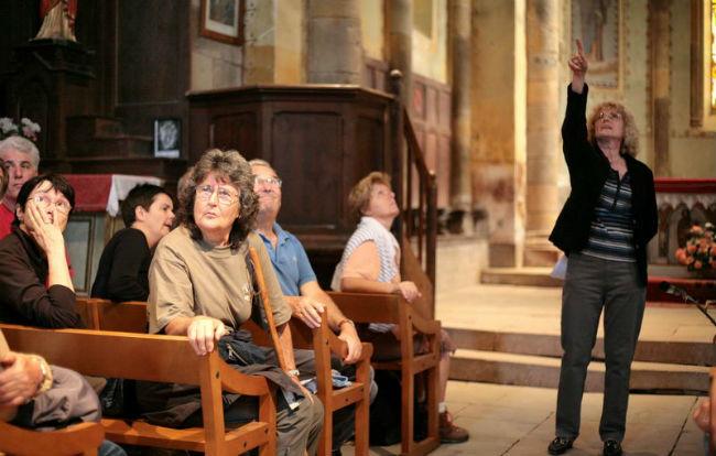 visite commentée de l`Eglise par Dany Lassalle