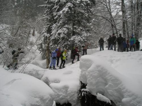 petit pont de neige