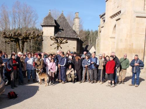 photo de groupe avant le départ !