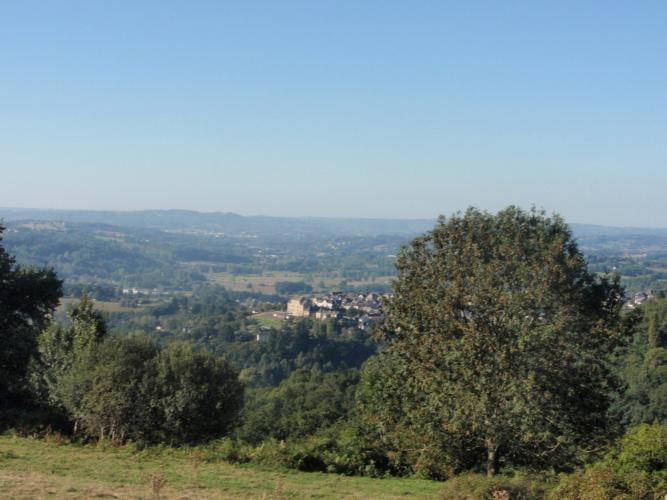 Donzenac et sa plaine