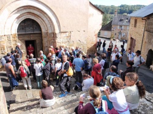 visite de l`Eglise commentée par Florence