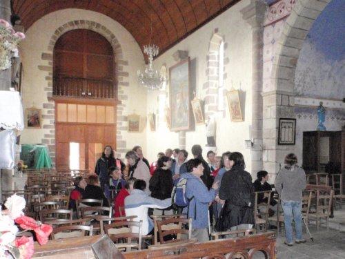 visite de l`Eglise de St Bazile