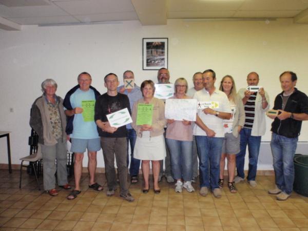 Clefs de Curemonte - Foyer Rural de Branceilles et Cyclo Randonneurs de Meyssac à l`ouvrage !